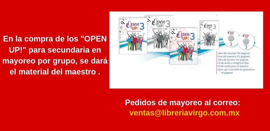 Open Up! Secundaria Material del maestro